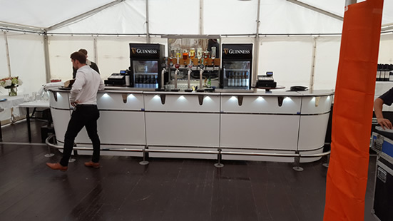 marquee solutions- bar counter