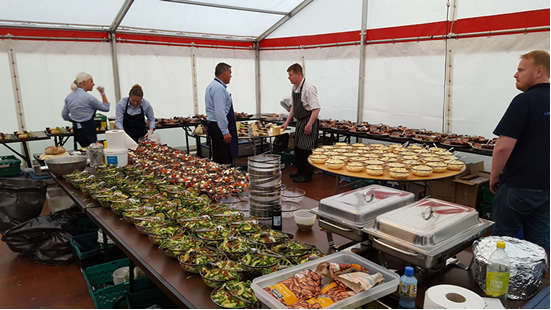 marquee solutions- catering options