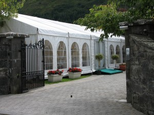 marquee-solutions-marquee-hire-ireland-Golden-Wedding Anniversary-in- Strandhill-Co Sligo-2